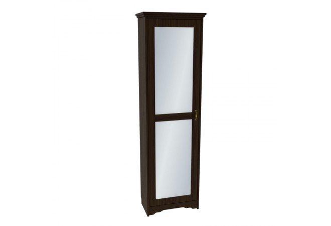 Шкаф с зеркалом для одежды Мадрид колониал купить по лучшей цене в Rattan&Wood