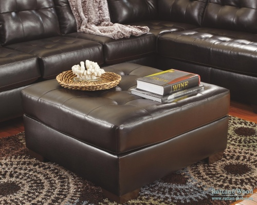 Оттоманка Alliston DuraBlend - Chocolat, Ashley Furniture