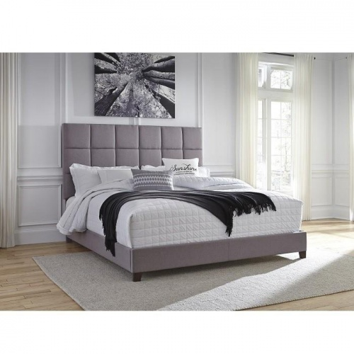 Кровать (King 193x203) Contemprorary Upholstered Beds, Ashley Furniture