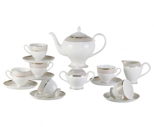 Чайный сервиз Bianko 17 Pcs  tea Set