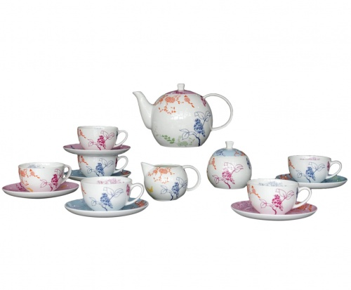 Чайный сервиз Sienna 17 Pcs  tea Set