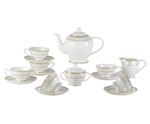 Чайный сервиз Marbella 17 Pcs  tea Set
