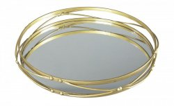 Поднос Ocelfa - Antique Gold Finish, Ashley Furniture