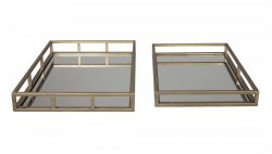 Поднос Ocie - Antique Gold Finish, Ashley Furniture